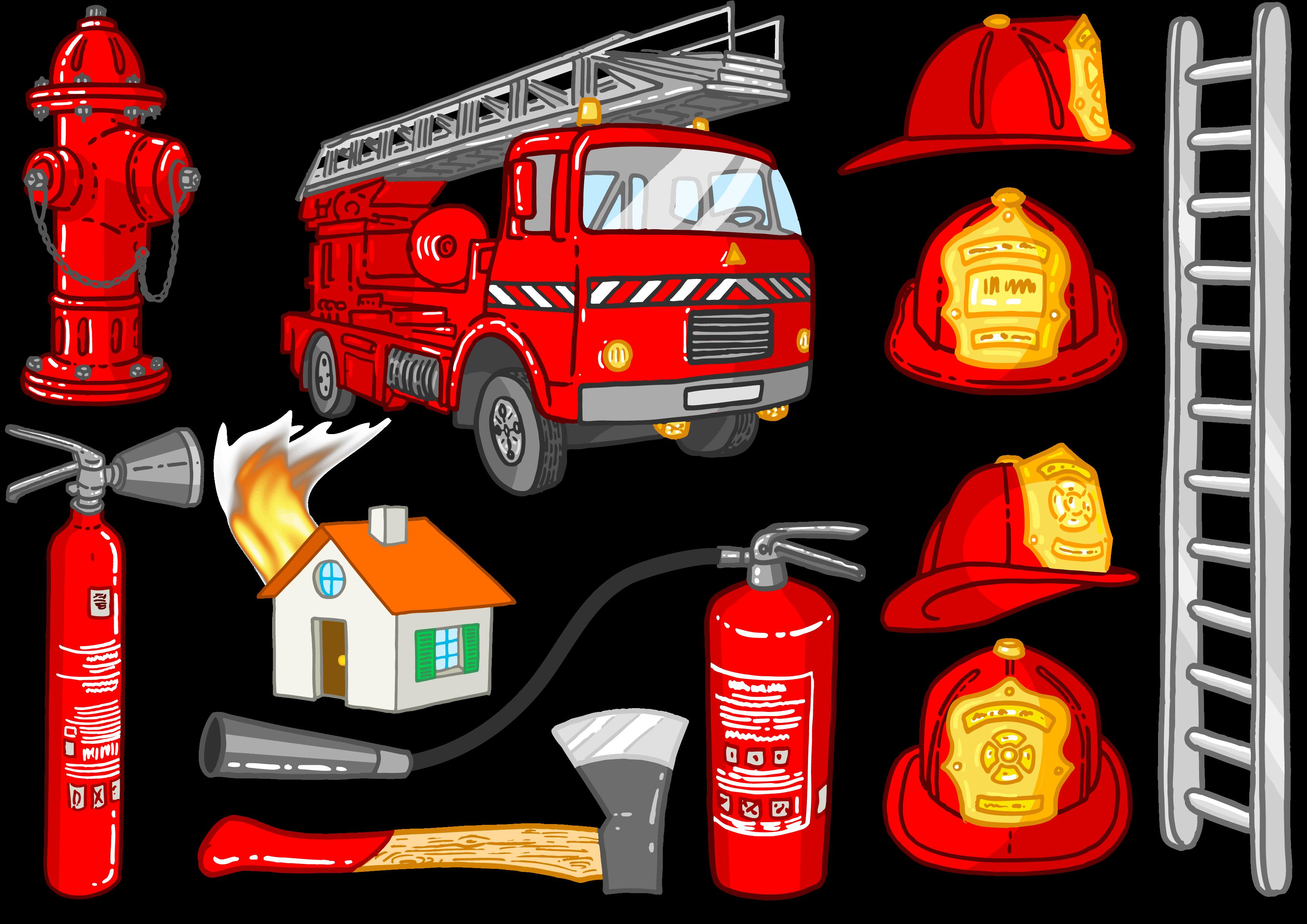 картинка пожарного в форме для стенда