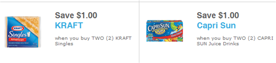 Kraft Just Release Two New Coupons That Pair Nicely - Capri Sun Fruit Punch Juice Drink 10 - 6 Oz Pouches (940x215), Png Download