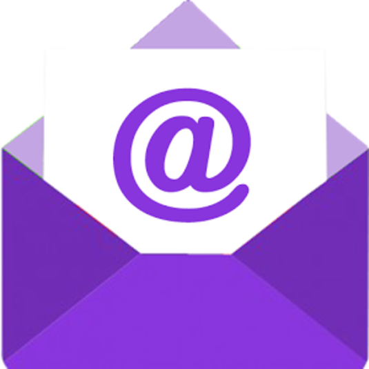 Yahoo Mail Logo Png - Logo Yahoo Mail Png (535x535), Png Download