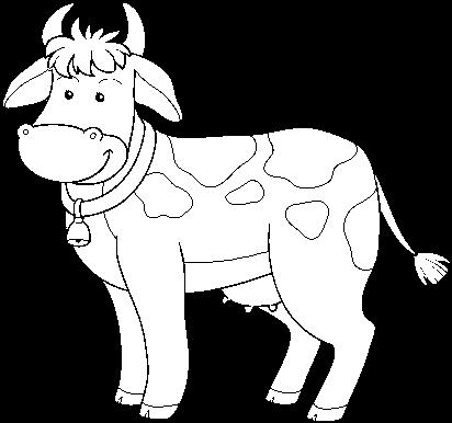 Download Desenho De Vaca De Fazenda Para Colorir Fazenda Desenho