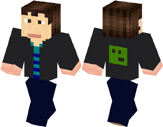 Download Minecraft Pro Steve Skin Png Image With No