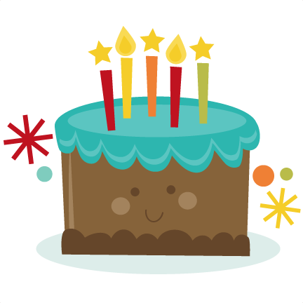 Free Library Cute Clip Art Net - Birthday Cake Cute Png (432x432), Png Download