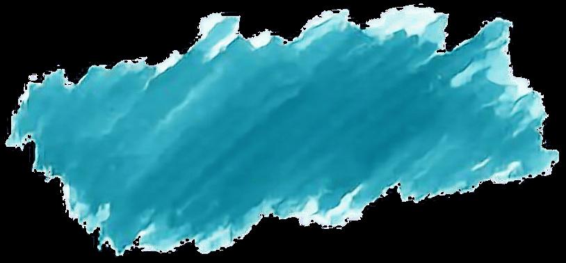 Watercolor Paint Brushstroke Blues - Watercolor Brush Stroke Png (1136x564), Png Download