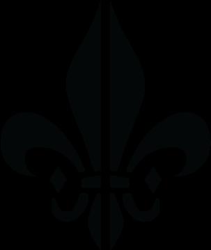 Crowns Vector Fleur De Lis - Fleur De Lys Illustrator (620x363), Png Download