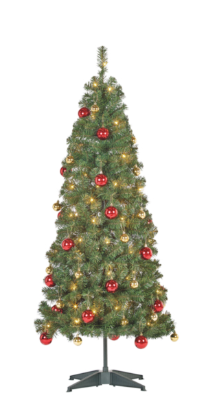 5ft Pop Up Pre Lit Led Christmas Tree - Christmas Day (774x588), Png Download