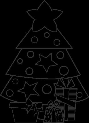 Download Dibujo De Regalos De Navidad 2 Para Colorear