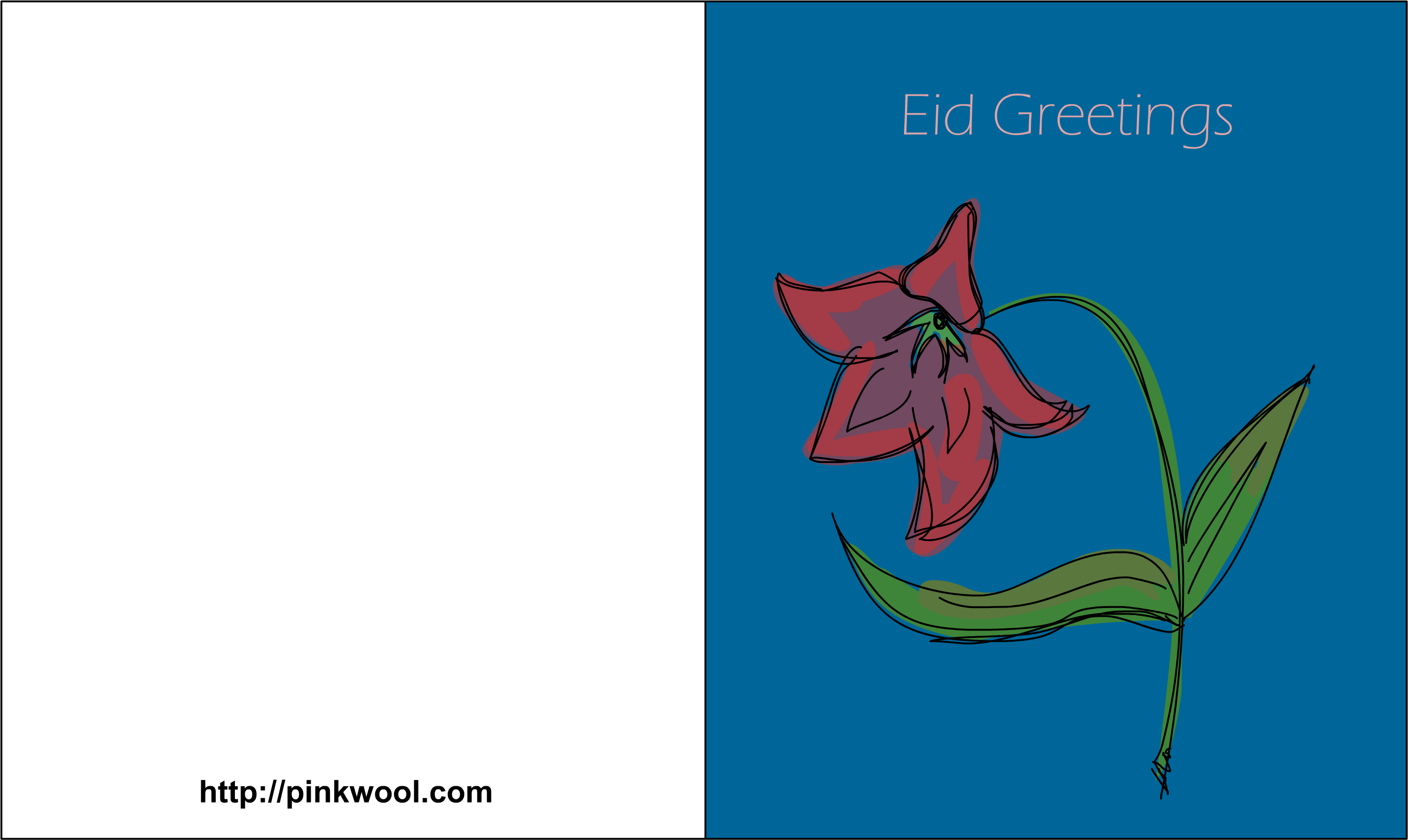 Download Free Printable Greeting Card For Eid Illustration Png Image With No Background Pngkey Com