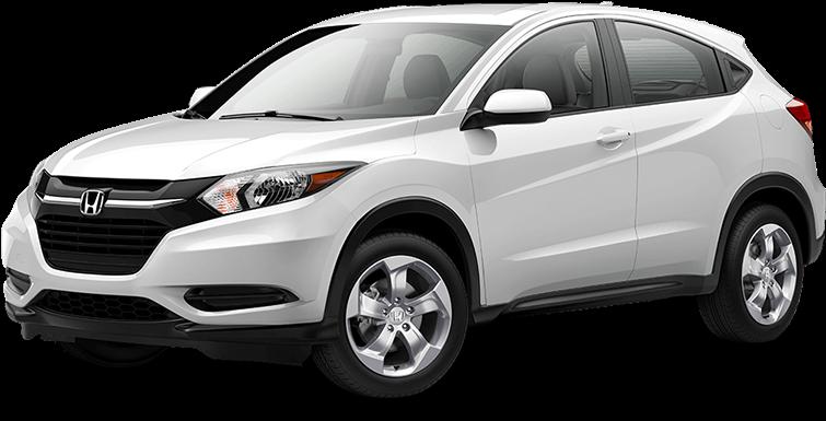 Download 2018 Honda Hr-v - Honda 2017 Hrv White PNG Image with No Background  - PNGkey.com