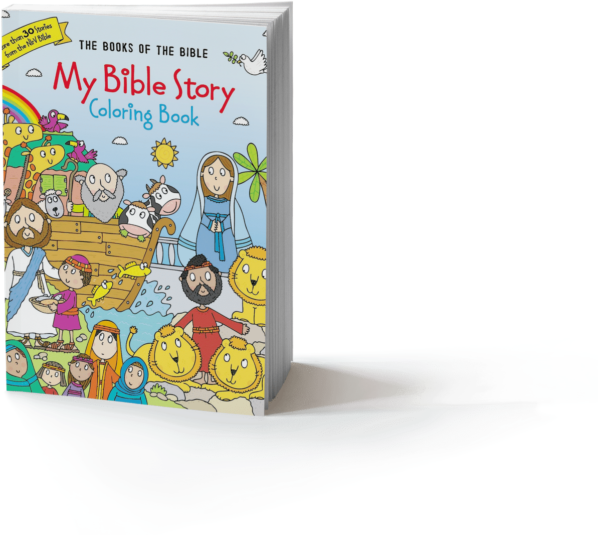 - Download Book-mockup - My Bible Story Coloring Book: The Books PNG