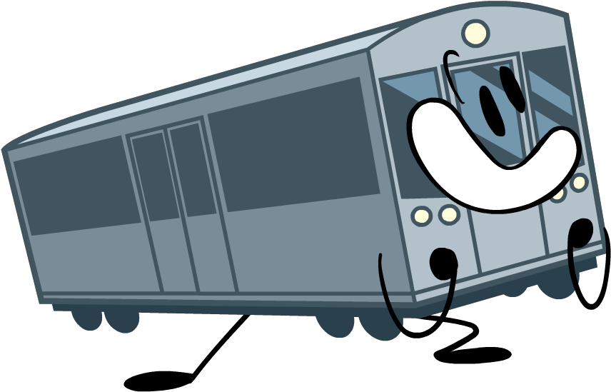 Download Choo Choo The Train - Bfb A Bfdi Car PNG Image with No