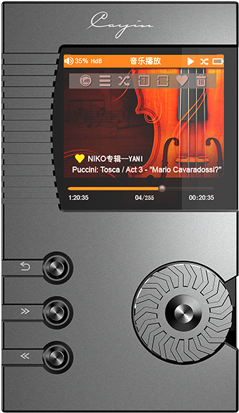 Download Cayin N5 Dsd Lossless Portable Music Player Headphone PNG
