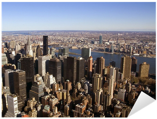 Aerial View Of New York City From The Empire States - New York City (400x400), Png Download