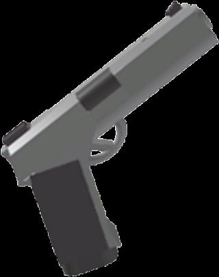 Download Pistol Transparent Roblox Roblox Pistol Png Png Image