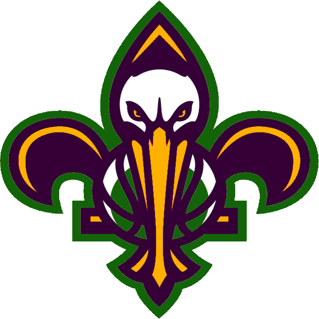 Download New Orleans Pelicans Logos Png Image With No