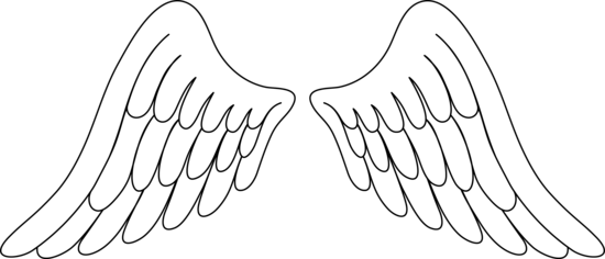 Download Angel Wings Free Angel Wing Clip Art Free Vector For Angel Wings Clip Art Png Image With No Background Pngkey Com