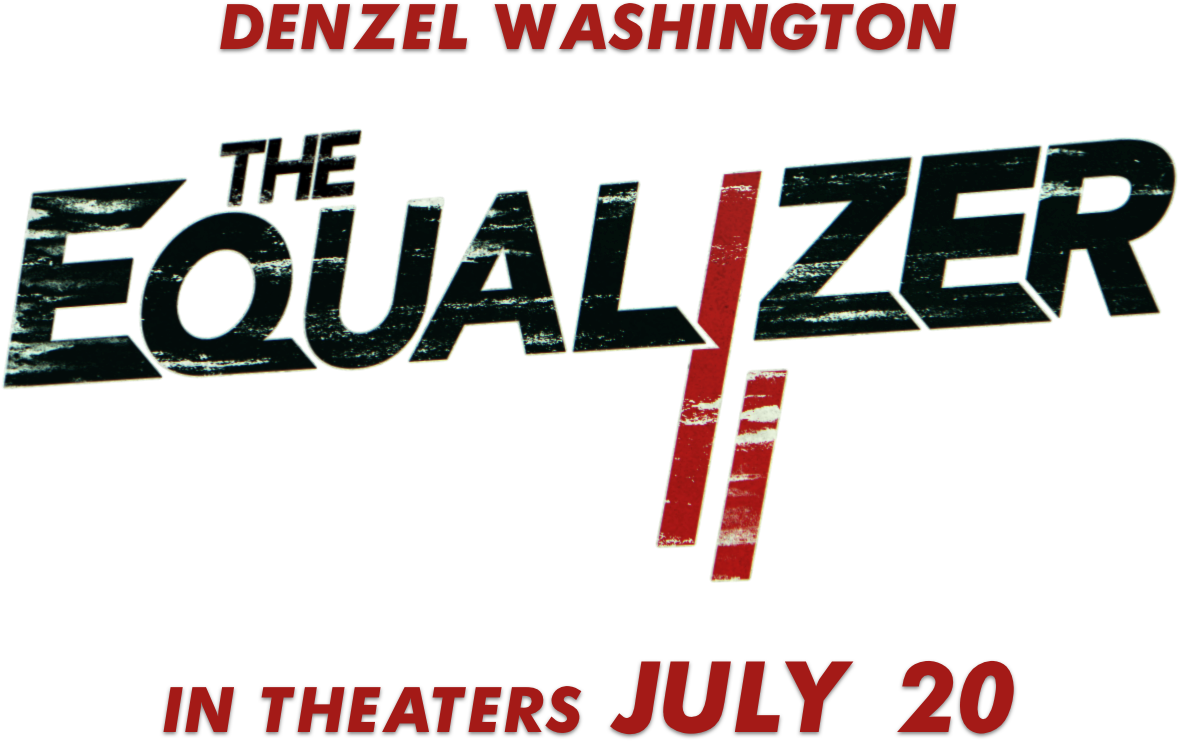 The Equalizer - Equalizer 2 Movie Title (1177x757), Png Download