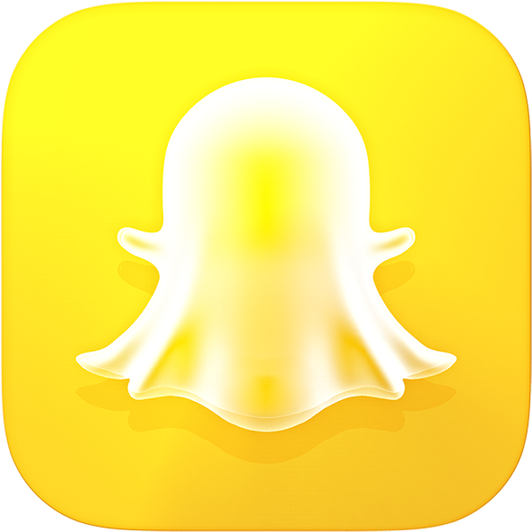 Download Snapchat 3d Icon Publish - Snapchat Logo 3d Png PNG