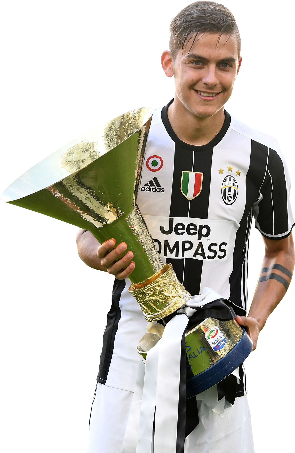Download Paulo Dybala With Trophy Png Image With No Background Pngkey Com