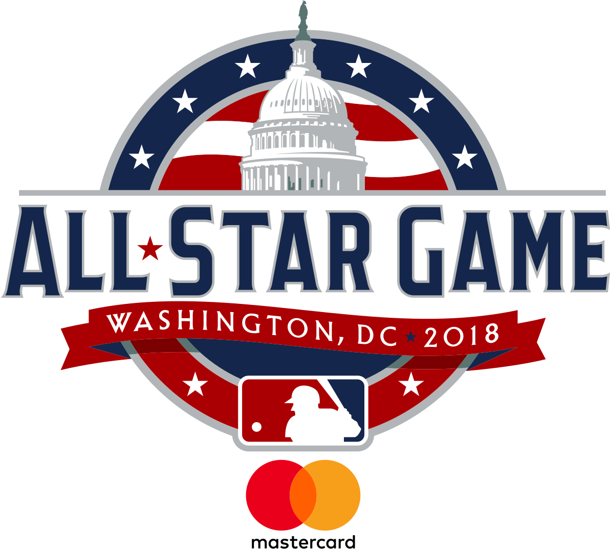 Mlb All Star Game 2018 Logo Png (1200x1080), Png Download