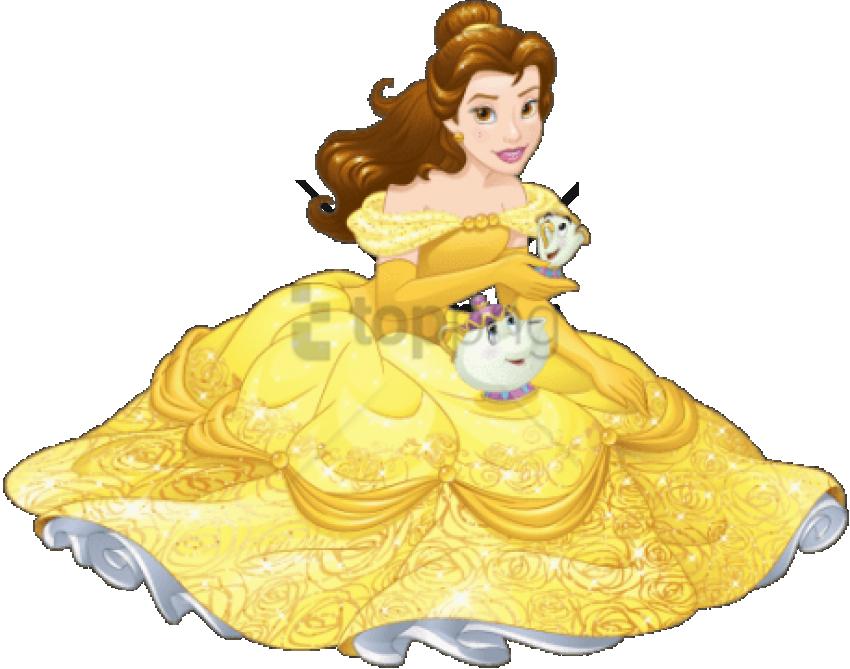 Belle And Beast Beauty Cartoons Disney Princess The - Disney Princess Png Transparent (458x360), Png Download