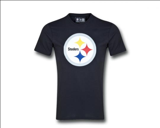 Pittsburgh Steelers New Era Team Logo T-shirt - Mens (540x540), Png Download