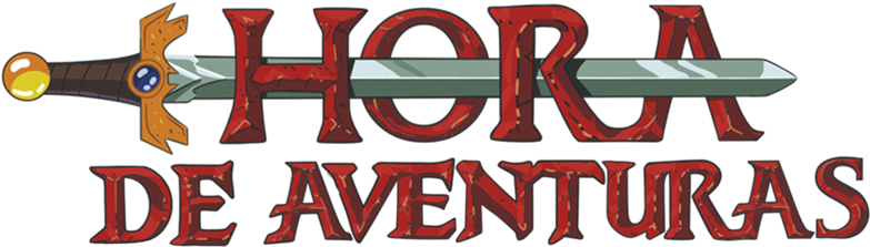 Adventure Time With Finn And Jake Image - Hora De Aventura Logo (800x310), Png Download