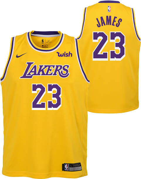 Download Lebron James Lebron James Lakers Jersey Patch Png Image With No Background Pngkey Com
