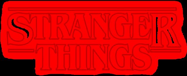 Stranger Things Logo - Stranger Things Logo Png - Free ...