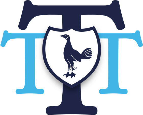 Download The Tottenham Tribute Trust Logo Spurs Logo Tottenham White Png Image With No Background Pngkey Com