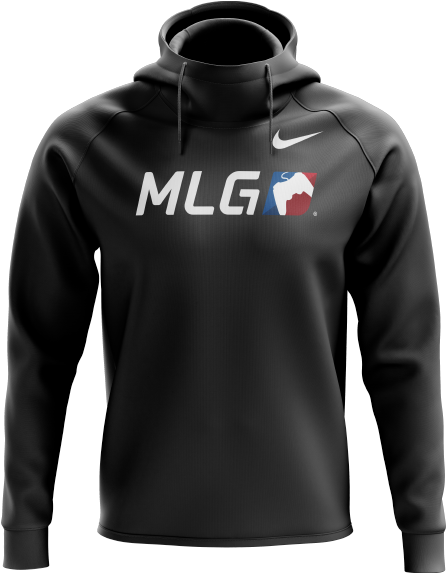 0156bc3bc7cf Download Mlg Classic Nike Hoodie - Esport Hoodies PNG Image with No ...