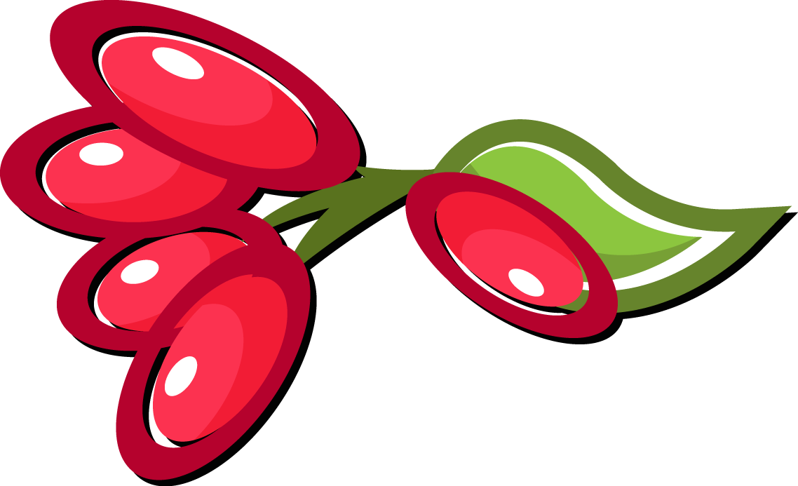 Fruits Clipart Berry - Fruit (1138x693), Png Download