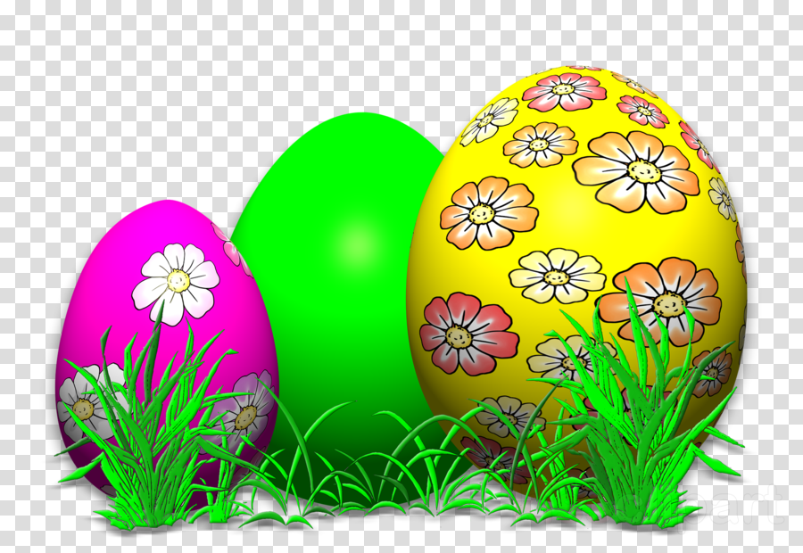 Download Paaseieren Png Clipart Easter Egg Easter Grass - Easter Coloring Book: Easter Eggs Jumbo Coloring Book (900x620), Png Download