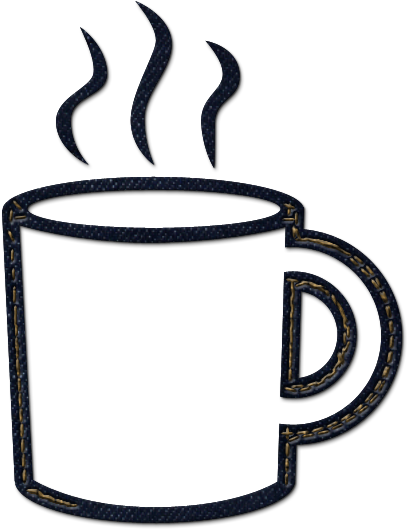 Download Coffee Mug Clipart Free Clipart Coffee Mug Clipart Coffee Mug Black And White Png Image With No Background Pngkey Com