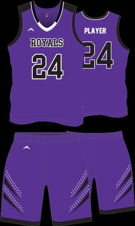 9d125ea5bf0 Product Image - Basketball Jersey Design Violet (504x817), Png Download