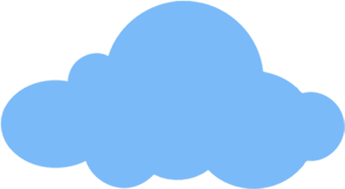 Download Freeuse Stock Cloud Png Clipart Blue Cartoon Cloud Png Image With No Background Pngkey Com
