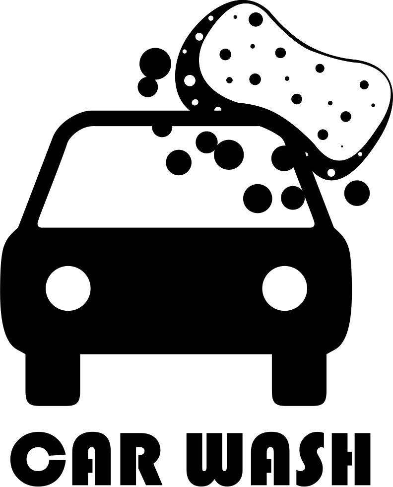 Foam Sponge Car Wash Comments - Car Wash Icon Free (792x981), Png Download