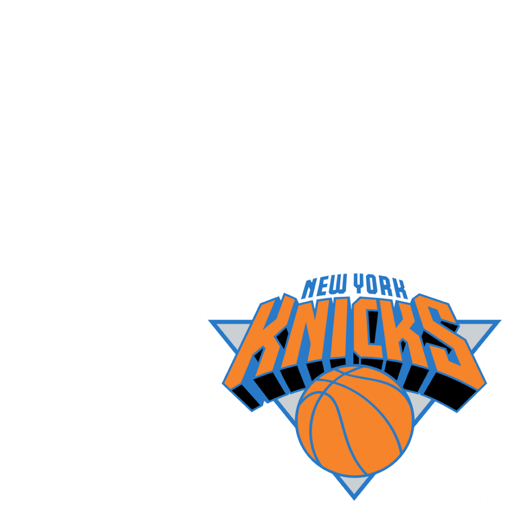 Go, New York Knicks - New York Knicks Logo Transparent (1000x1000), Png Download