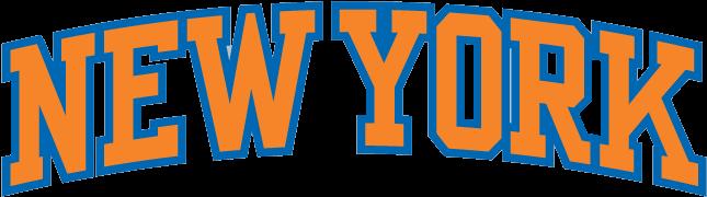 New York Knicks - New York Knicks Jersey Logo (800x310), Png Download