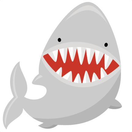Shark Svg File For Scrapbooking Shark Svg Files Shark - Miss Kate Cuttables Shark (432x432), Png Download