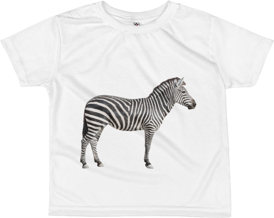 48cb2b24ad7 Download Zebra Print All Over Kids Sublimation T Shirt - Pattern ...