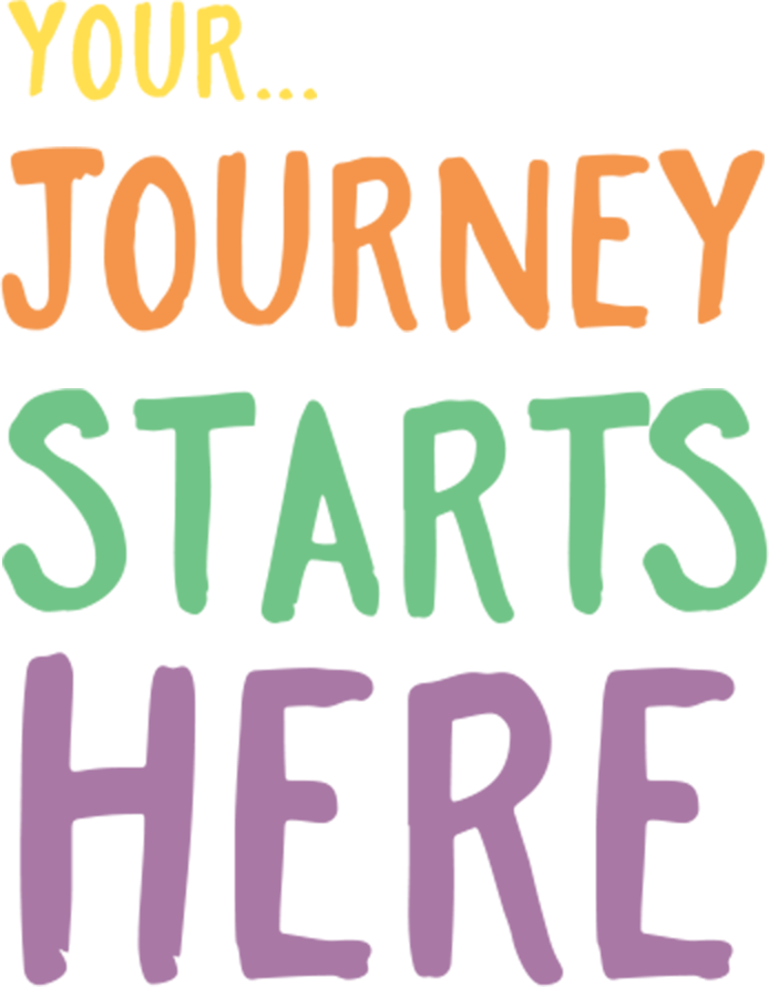 Your Journey Starts Here - Your Journey Starts Here Transparent (694x890), Png Download