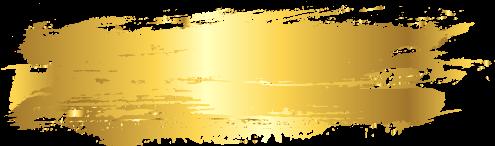 Brushstroke Stroke Strokes Goldenstroke Paint Foil - Png Gold Paint Brush Stroke (604x640), Png Download