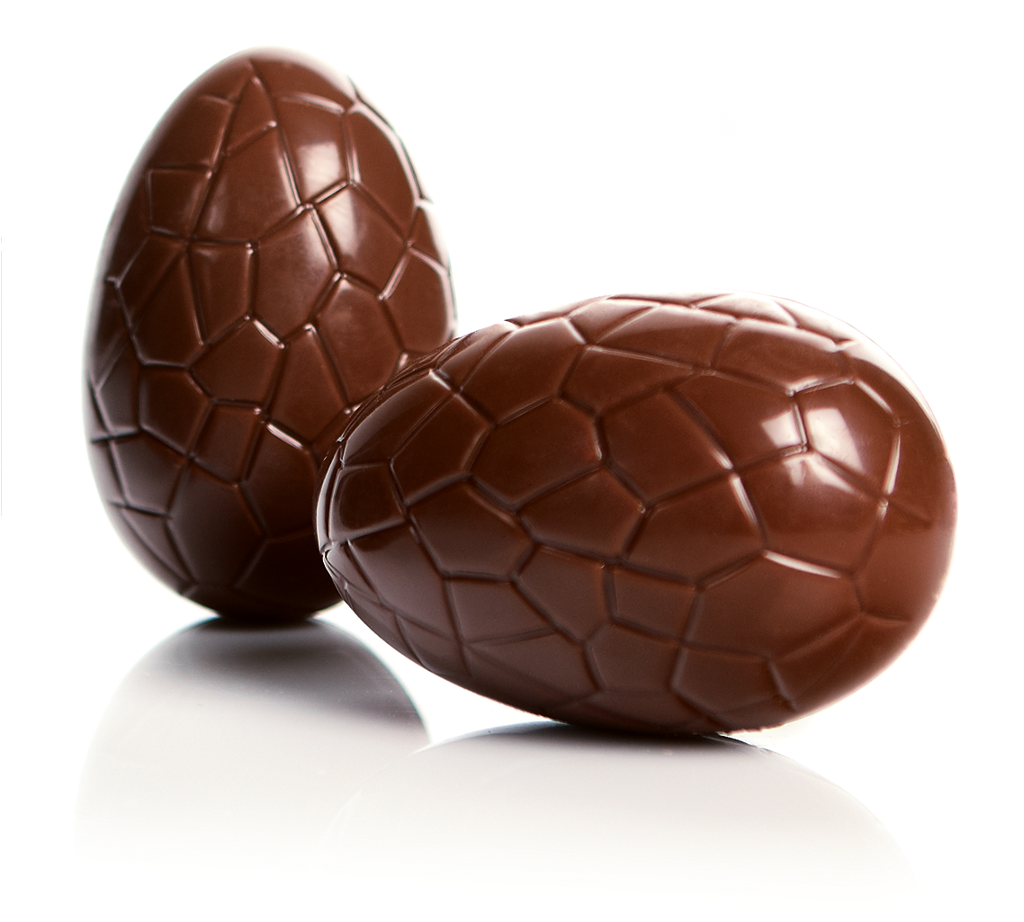 Chocolate Easter Eggs Png Banner Download - Easter Chocolate Eggs Transparent (1280x1024), Png Download
