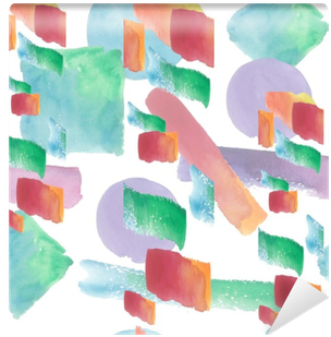 Colorful Texture Illustration Pattern In A Watercolor - Watercolor Painting (400x400), Png Download