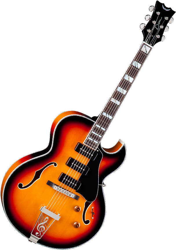 Download Free Icons Png Dean Palomino Hollowbody Guitar Vintage Sunburst Png Image With No Background Pngkey Com