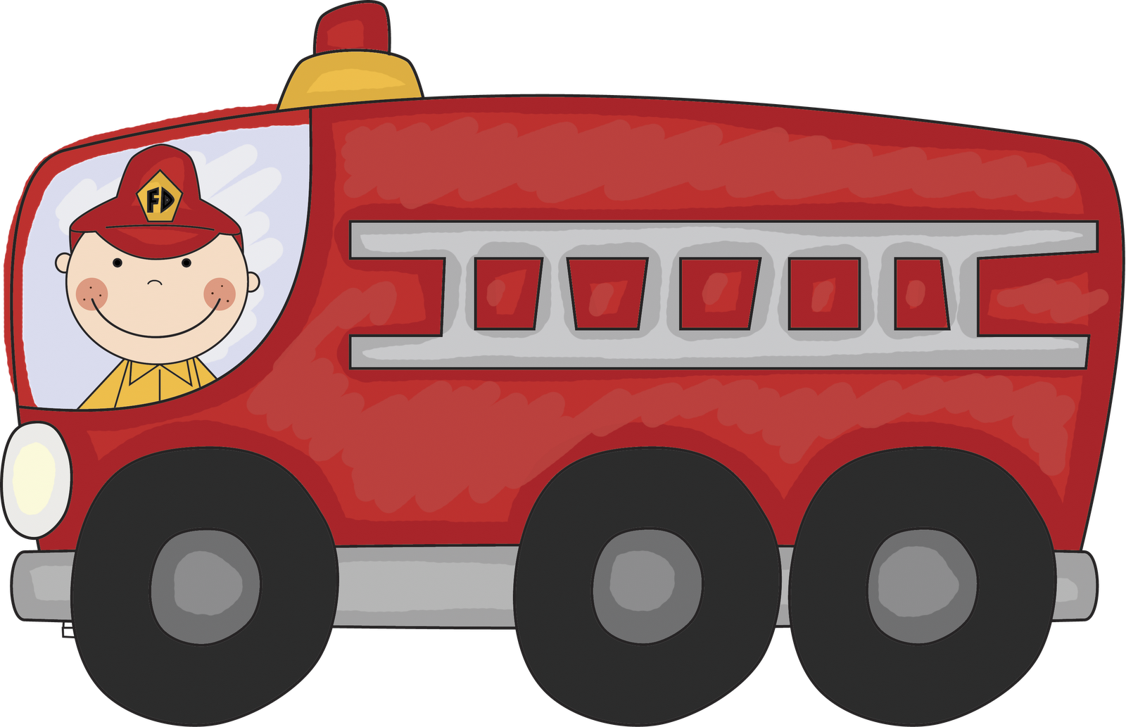 Download Vintage Truck Panda Free Clip Art Fire Truck Clipart Png Image With No Background Pngkey Com