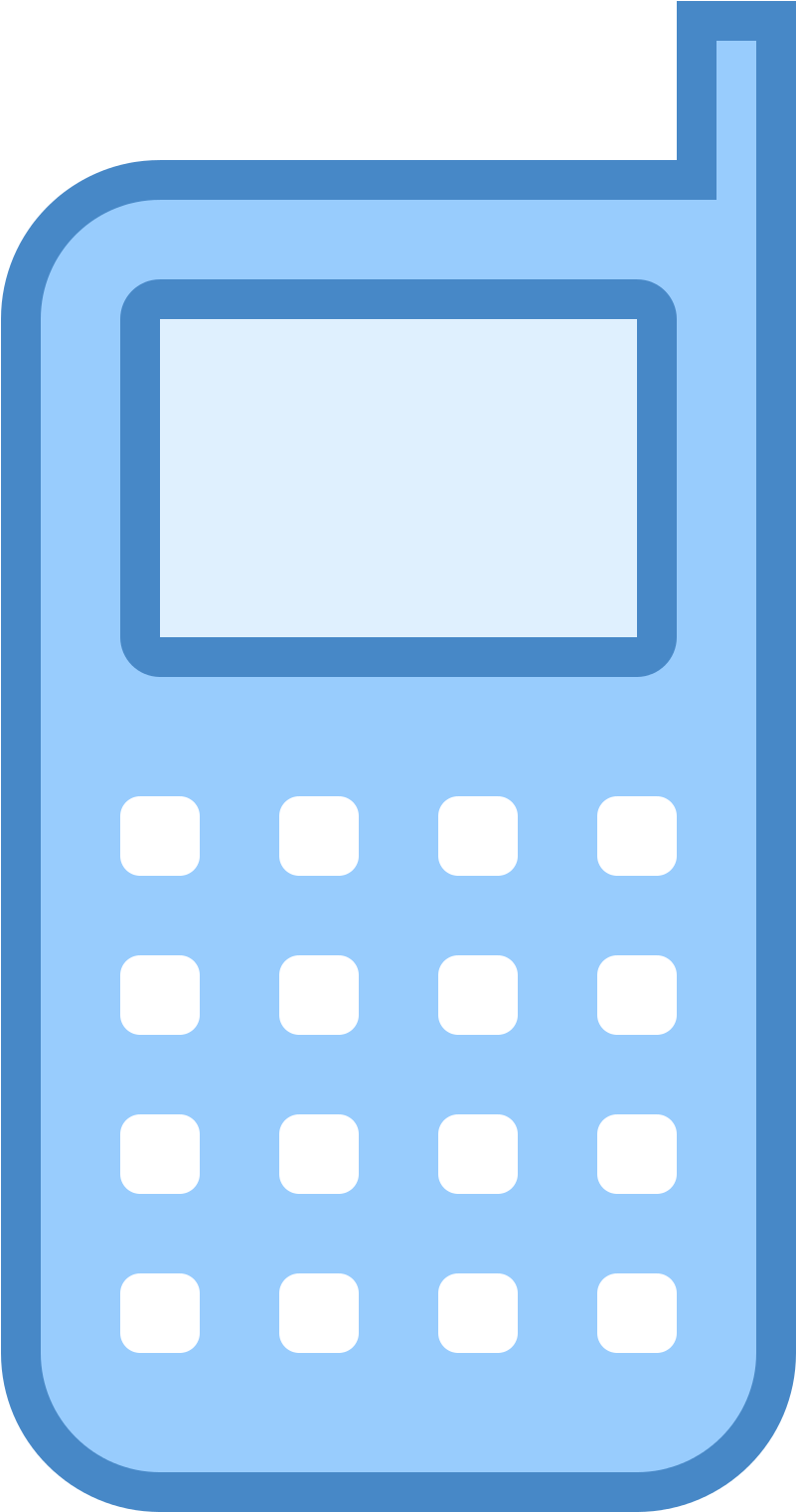Download Telephone Icon Png Blue Download Blue Mobile