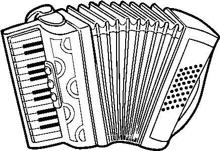 Download Dibujo De Acordeón A Piano Para Colorear Disegni