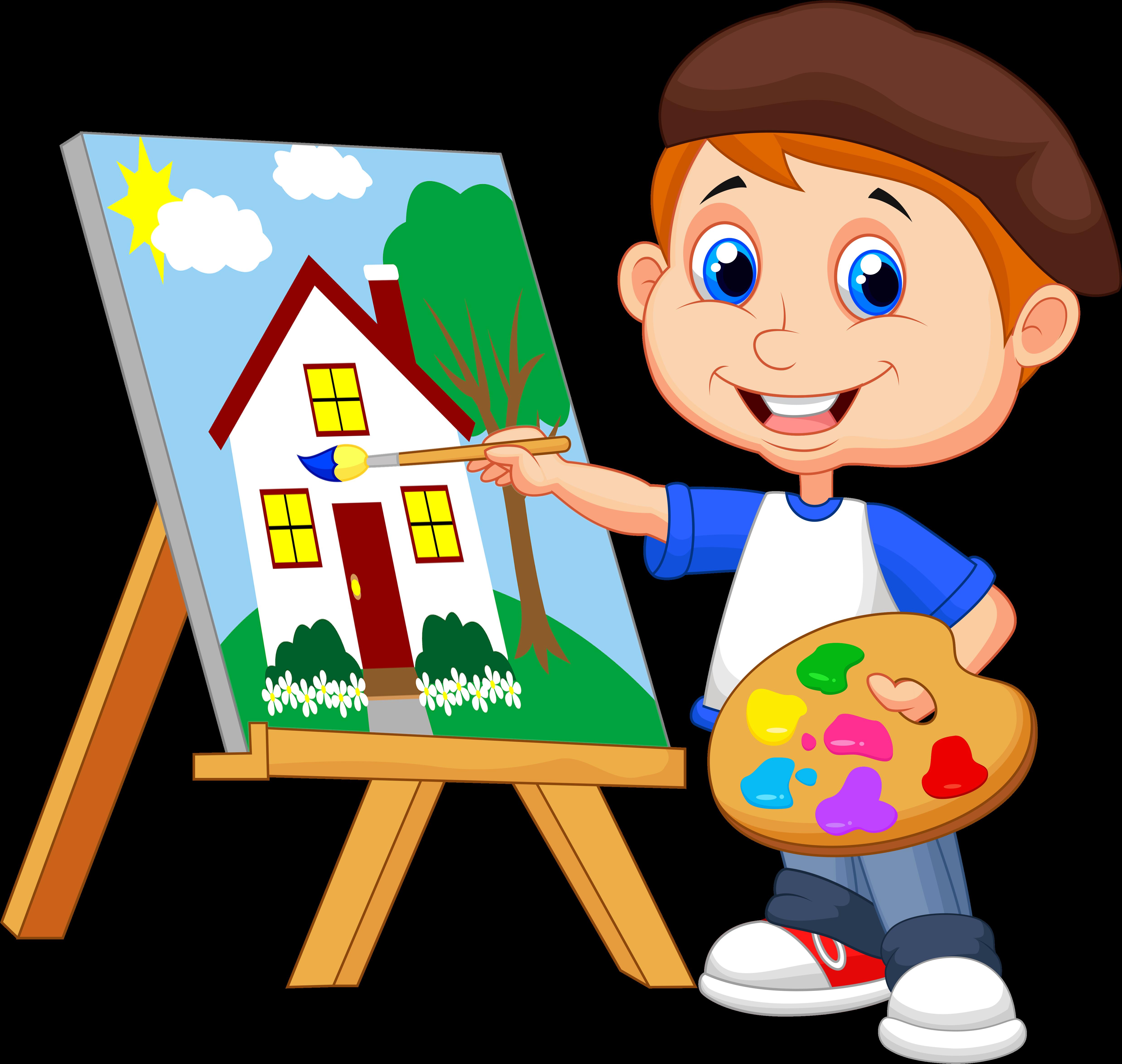 art class clip art - HD5000×4742