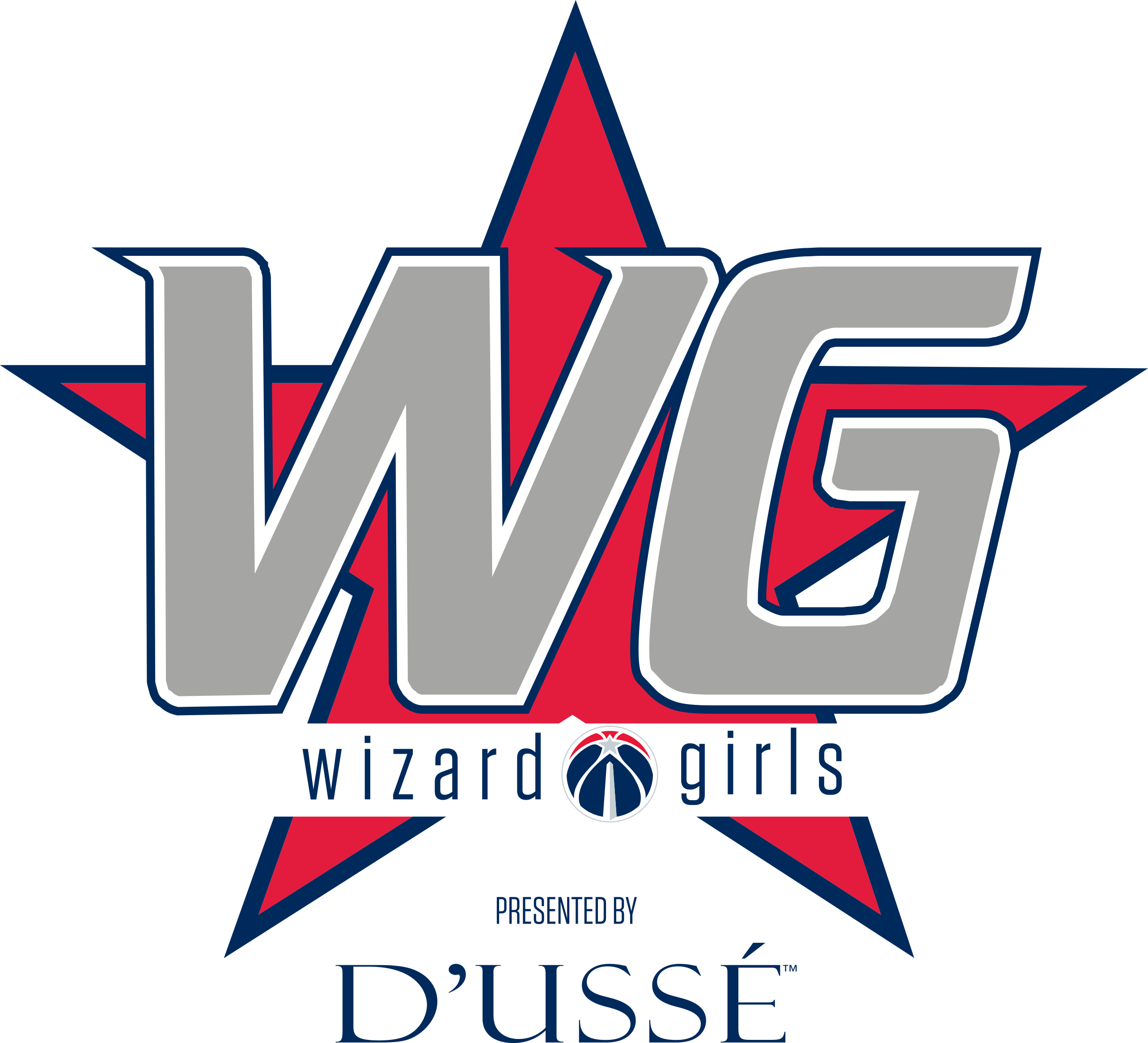 Dancer Menu - Washington Wizards (2567x2332), Png Download